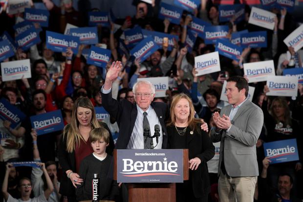 Bernie Sanders — Iowa caucuses