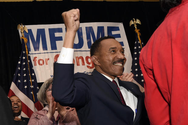 Kweisi Mfume wins special election primary for Elijah Cummings' seat