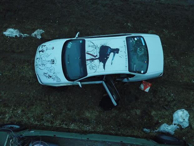 Woodworth crime scene