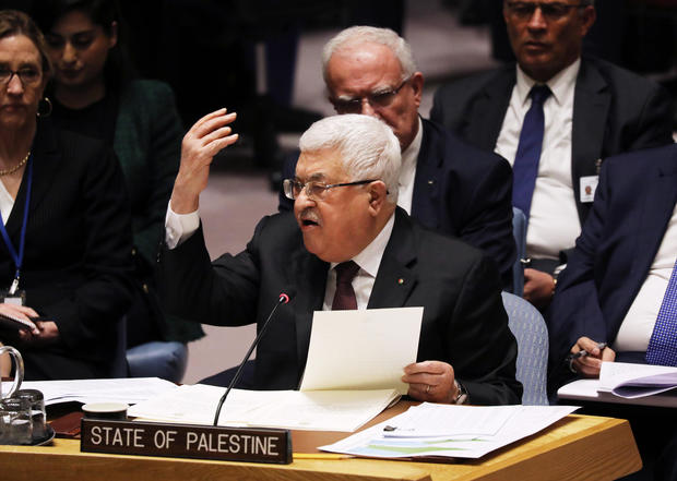 Palestinian President Abbas Goes To United Nations To Address Trump's Peace Plan