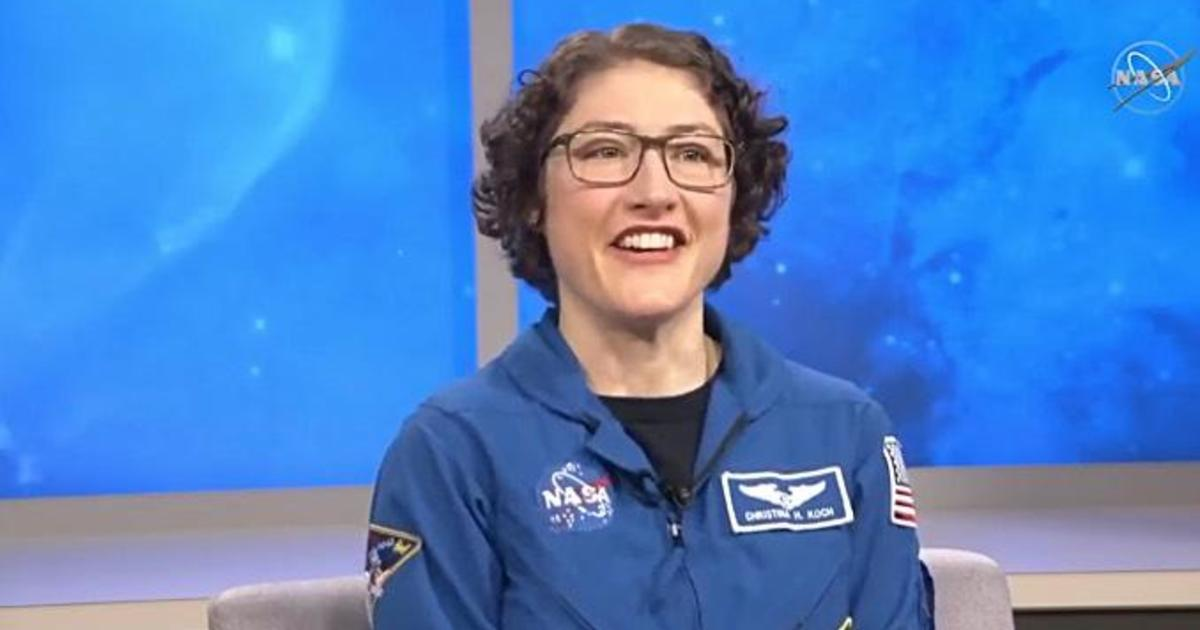 """I feel great"": Astronaut Christina Koch loving life on Earth after nearly a year aboard the space station"