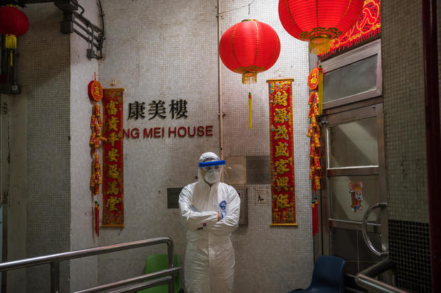 Concern In Hong Kong As The Wuhan Coronavirus Spreads