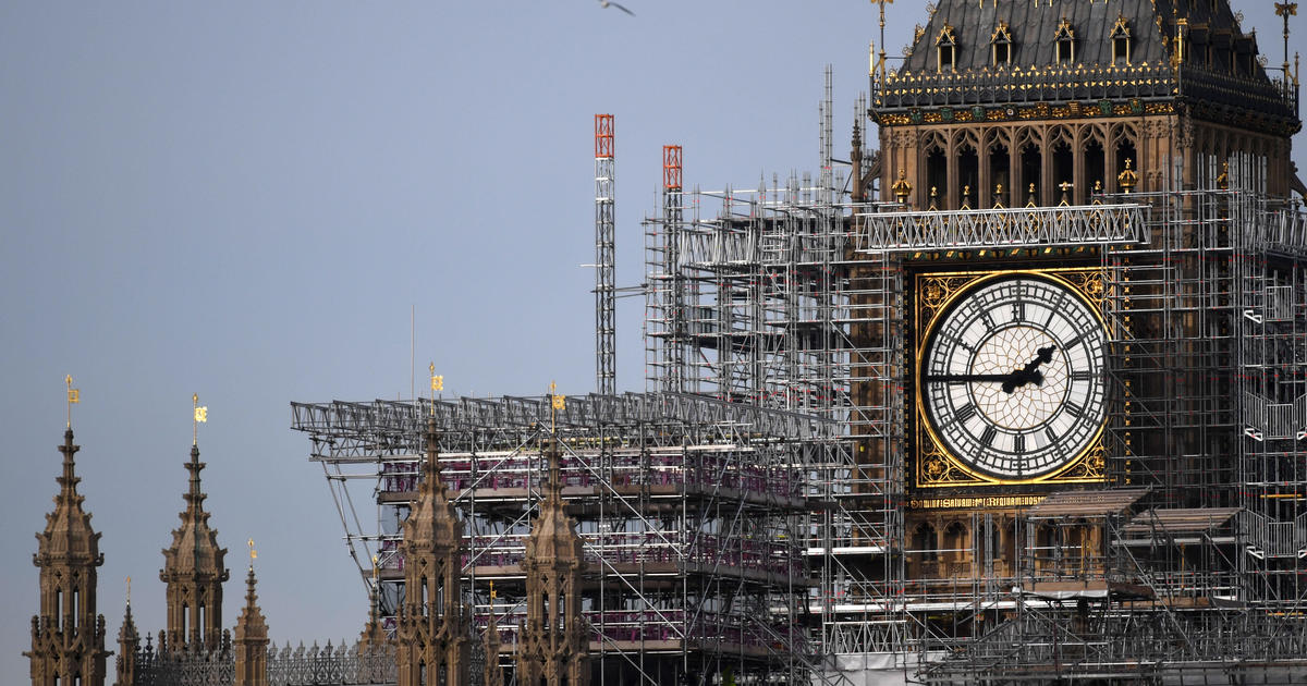 "London's Big Ben WWII bomb damage is ""more extensive than first thought"""