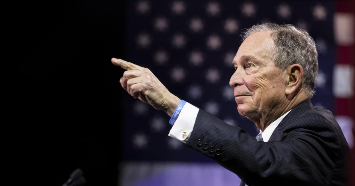 1 Mike Bloomberg equals 660,000 American households, wealthwise