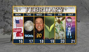 Calendar: Week of February 17