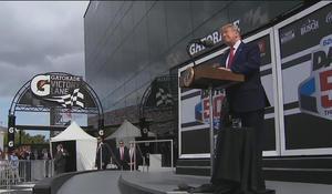 Trump attends Daytona 500 in Florida