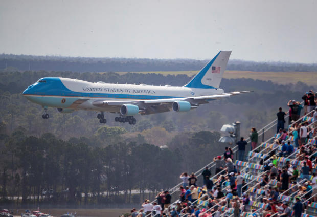 Air Force One — NASCAR: Daytona 500