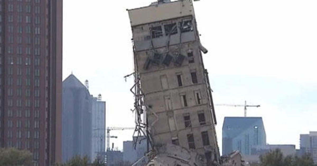"""Online petition seeks to keep """"Leaning Tower of Dallas"""" as is"""