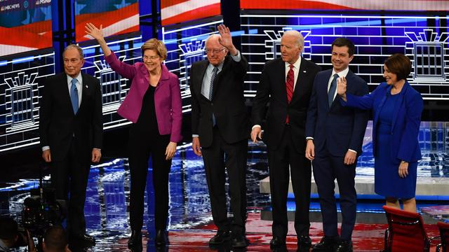 2020 Democratic presidential debate — Las Vegas