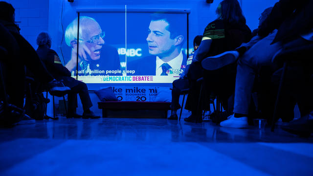 Bloomberg Campaign Office Hosts Debate Watch Party
