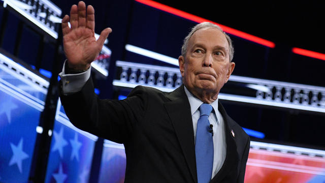 Michael Bloomberg — 2020 Democratic presidential debate — Las Vegas