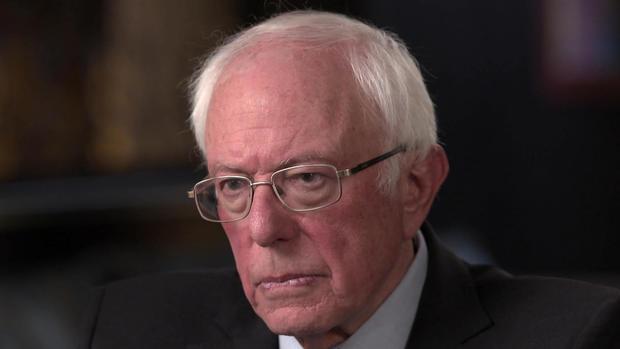 Bernie Sanders democratic presidential front-runner