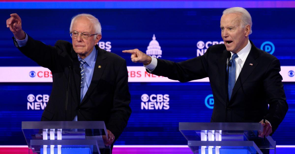 Democrats try to stop Sanders' momentum in fiery debate