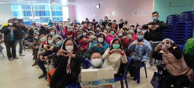 Coronavirus: Hong Kong residents wear new face masks from Prestige Ameritech