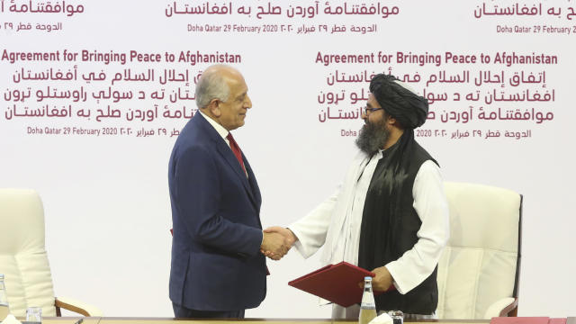 Qatar United States Afghanistan Peace Deal