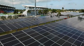 Bahamas installing solar power after storms
