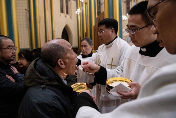 CHINA-RELIGION-CHRISTMAS