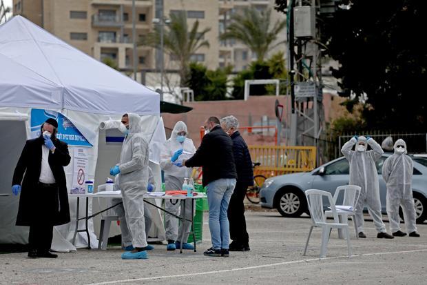ISRAEL-VOTE-HEALTH-VIRUS