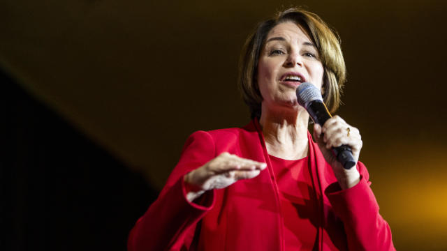 Presidential Candidate Amy Klobuchar Campaigns In Virginia Ahead Of Super Tuesday