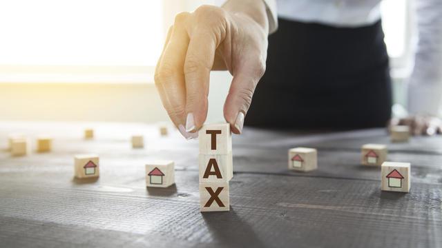 Home Tax Deduction Concept