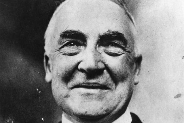 (TIE) 26. Warren G. Harding