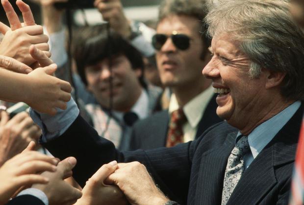 (TIE) 30. Jimmy Carter