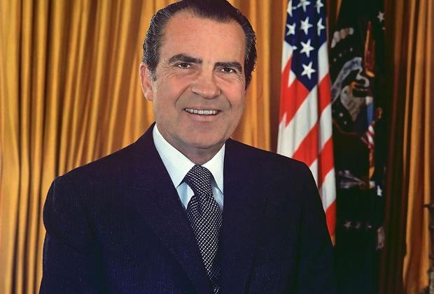 (TIE) 12. Richard M. Nixon