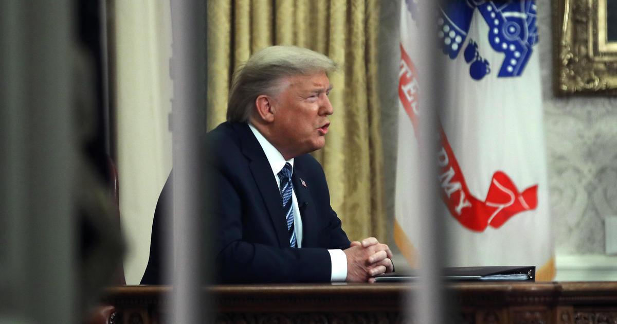 Trump cancels trips, campaign event amid coronavirus outbreak