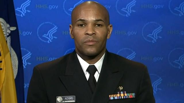 Surgeon General Jerome Adams Testifies To Senate Health Committee