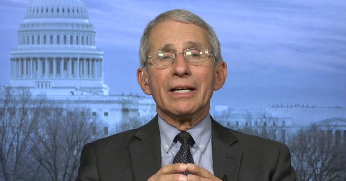 """Unclear how long """"stay-at-home"""" orders will last, Dr. Fauci says 1"""