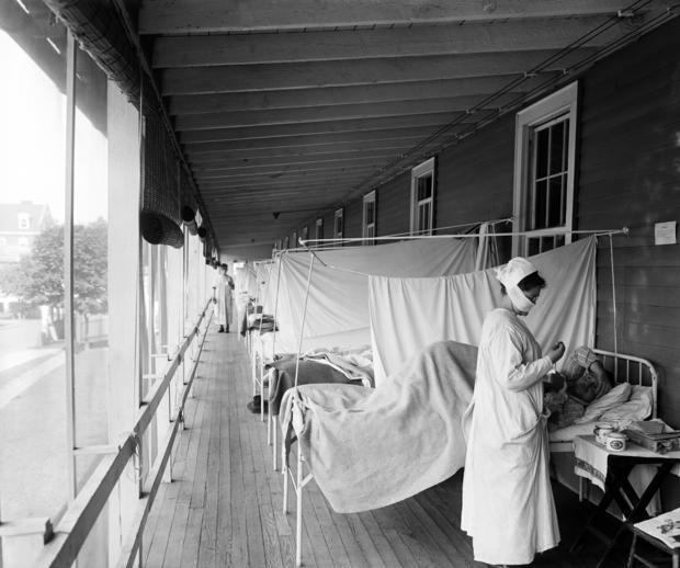 Walter Reed Hospital Flu Ward