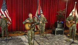 U.S. Army Field Band still plays during pandemic