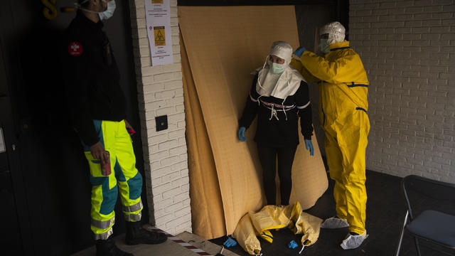 APTOPIX Virus Outbreak Belgium