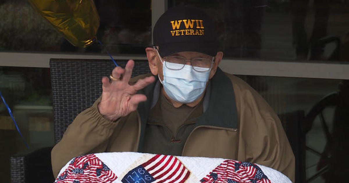 104-year-old vet recovers from coronavirus – just in time for his birthday