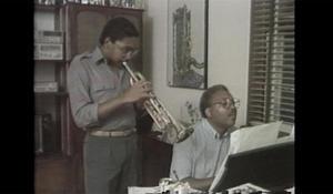 Ellis Marsalis and the Marsalis jazz family