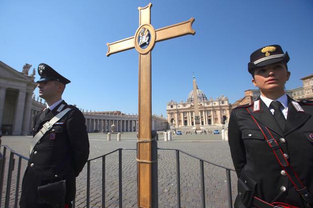 Virus Outbreak Vatican Easter