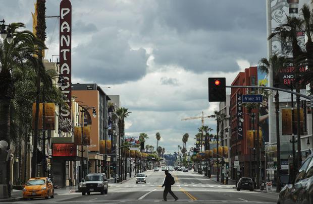Coronavirus Pandemic Los Angeles