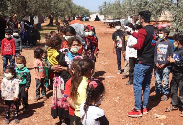 SYRIA-CONFLICT-HEALTH-VIRUS