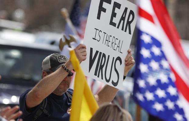 Colorado coronavirus protest