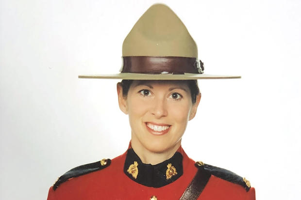 RCMP Constable Heidi Stevenson poses for an undated official photo