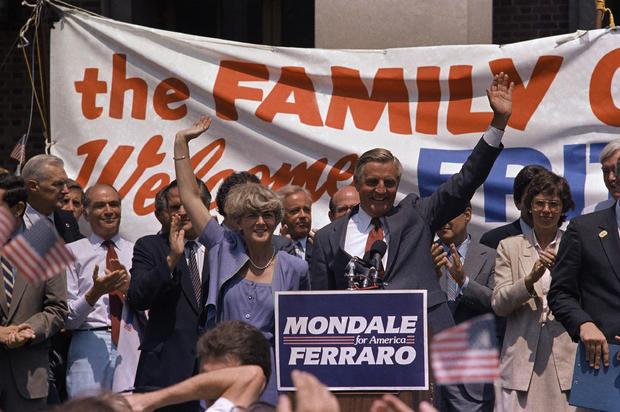 Geraldine Ferraro, Walter Mondale