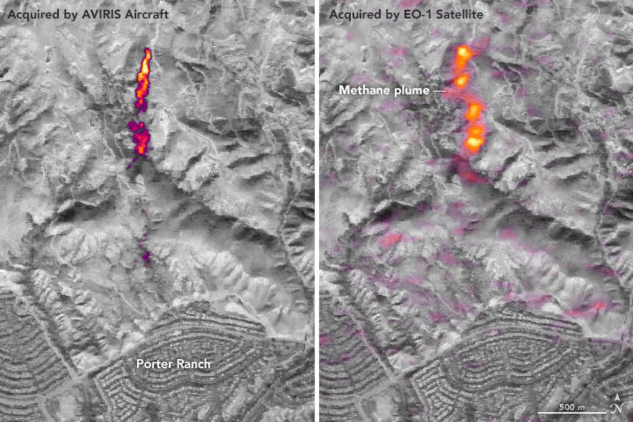 Satellite images reveal huge amounts of methane leaking from U.S. oil fields thumbnail