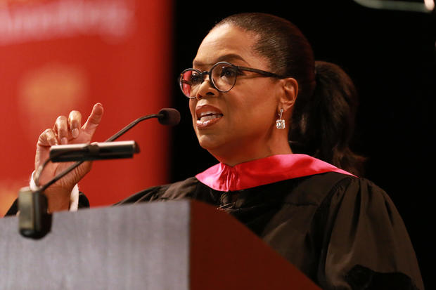 The USC Annenberg School For Communication And Journalism Celebrates Commencement With Keynote Address From Oprah Winfrey