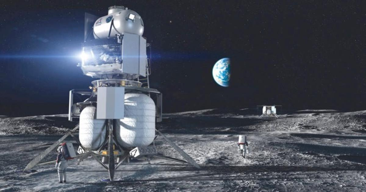 NASA awards nearly $1 billion in Artremis program moon lander contracts to SpaceX, Blue Origin and Dynetics