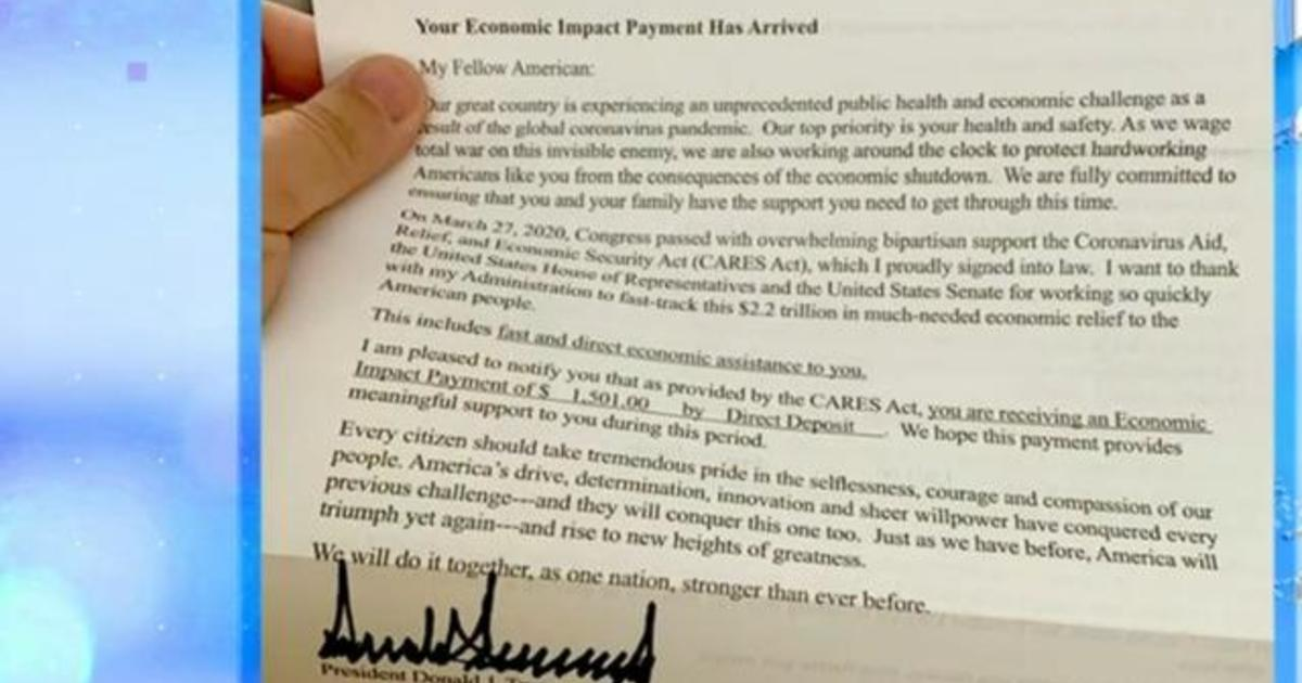 Trump sends millions of Americans signed letter explaining ...