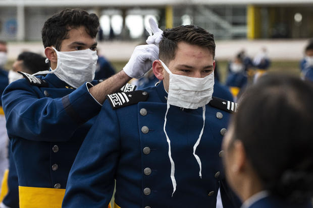 Vice President Pence Speaks At Air Force Academy Graduation In Colorado