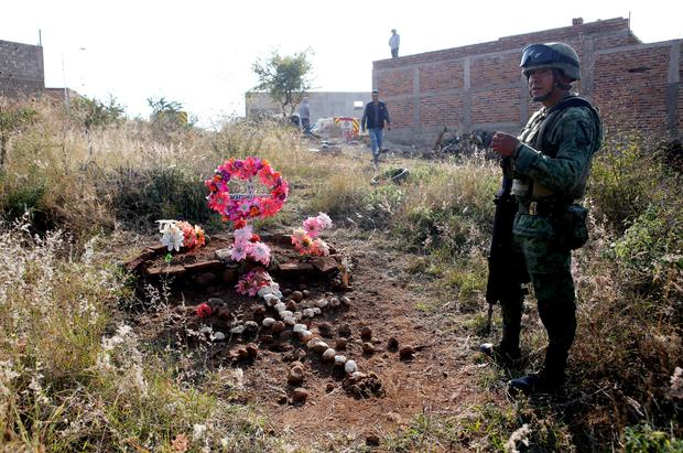 MEXICO-VIOLENCE-CRIME-MASS GRAVE