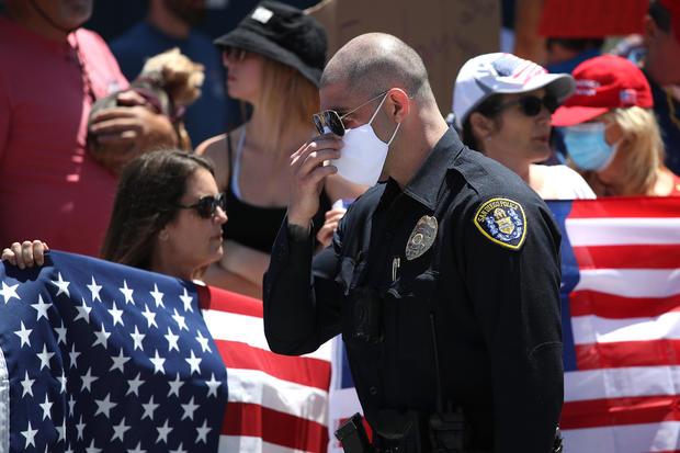 San Diego protest coronavirus
