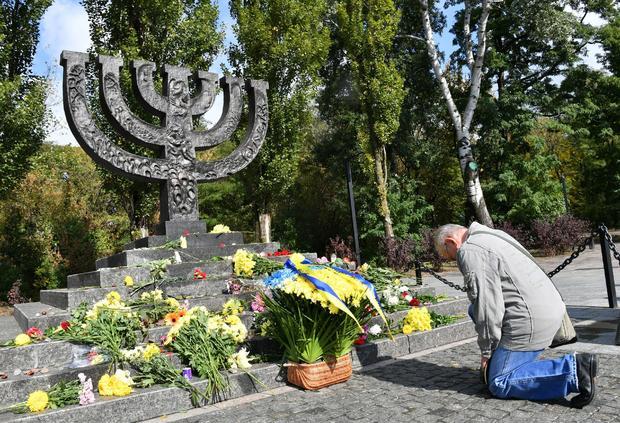 UKRAINE-HOLOCAUST-MEMORIAL