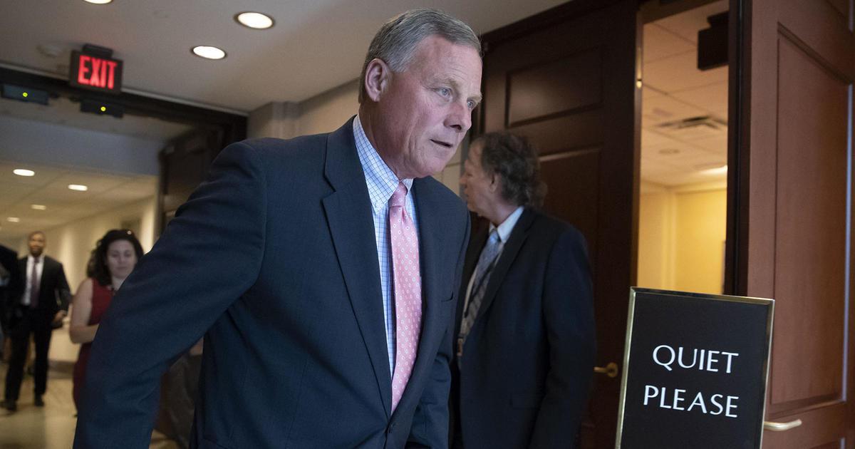 Justice Department closes investigation into Senator Burr